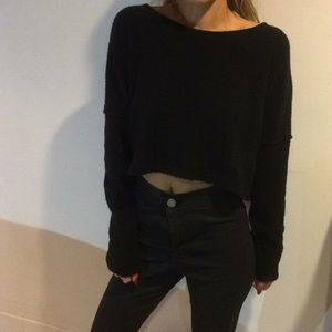 UO cropped sweatshirt